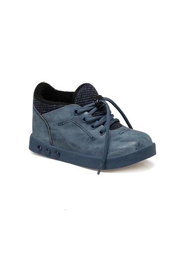 Vicco Vicco Patik Işıklı Spor Ayakkabı Erkek Çocuk Füme Füme